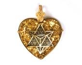 Star Tetrahedron (Geometry of the Merkaba) collaboration with Alternative Intelligence - Orgone Pendant