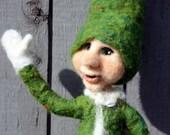 Christmas Elf, Felt Elf, Holiday Elf