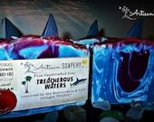 20% OFF SALE! Fierce Type Treacherous Waters Vegan Coconut Milk Soap