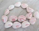 Pink Conch Shell Nugget Bead, Pendant, So Pretty!, Bead, 28mm, 1 Piece