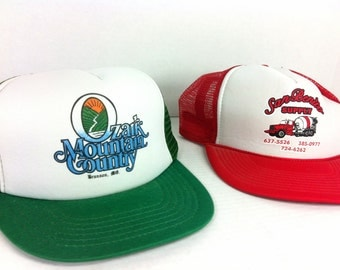 Snap Back Trucker Hats - 80s Trucker Hats - Collection