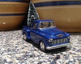 1955 Royal Blue Chevy Pickup Truck