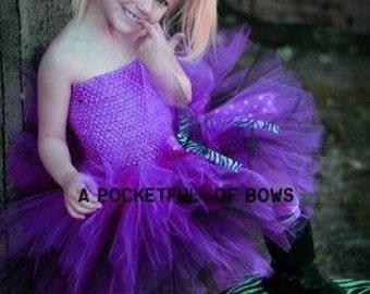 Purple and Black Tutu Dress. 1st 2nd 3rd 4th 5th Birthday Dress