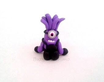 Purple minion charm