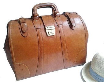 70s HONEY DOCTOR LUGGAGE  bag