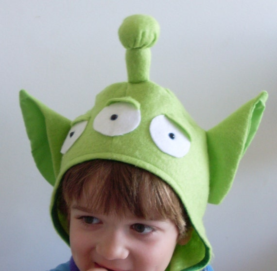 Items Similar To Toy Story Green Aliens Halloween Costume Head Piece On Etsy
