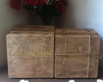 Groomsmen Gift, Cigar Box, Wood Gift, Box, Cool Groomsmen Gift, Gift for Him, Personalized Box