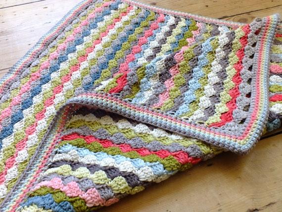 Katie's Woven Blanket - Instant Download PDF Crochet Pattern