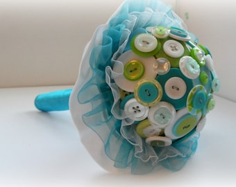 Lily Pad Button Bouquet