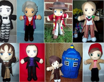 1 Doctor Who Character (MADE TO ORDER!)