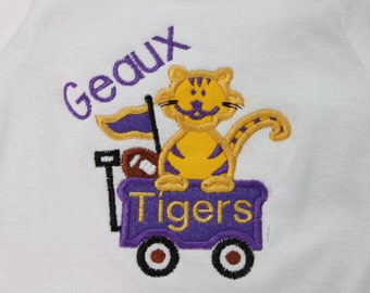 Geaux Tigers. Support your favorite team.
