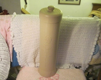 Toliet Paper Rolls Beigh with flower on it./ : ) New Listing not Included in Coupon Clearingout sale