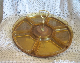 Hors d'oeuvres Platter/ Thermo Serv /  Vintage Westwood  /  :)