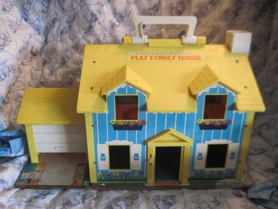 Fisher Price Little People Doll House by Daysgonebytreasures