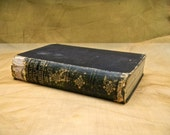 1854 Antique Distressed Book, John Ruskin - Hardcover, Ruskin's Lectures On Architecture and Painting, 23 Illustrations 1854