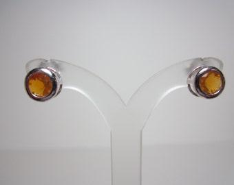 Oregon Fire Opal Earrings