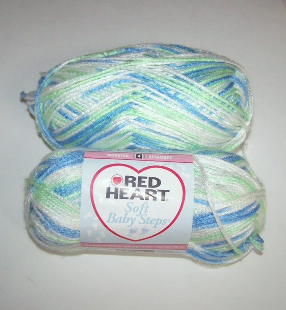Red Heart Soft Baby Steps Yarn In Puppy Print By Lotr01 On