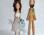 Cake Topper Couple-Custom Personalized-Pick your Pair