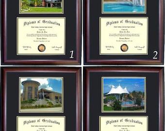 Central Florida Diploma Frame