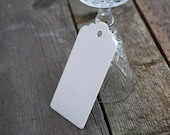 Gift Tags, recycled card gift tags, packs of 10 or 30 in Oatmeal, natural shades