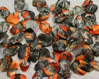 camo petals camo wedding popular items for camo wedding on etsy - Orange Camo Wedding Rings