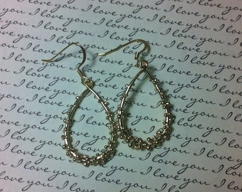 Teardrop Bubbles Earrings