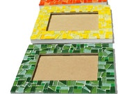 Mosaic Picture Frame, 5 x 7   - You choose the color