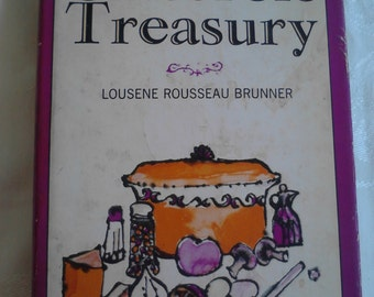 Vintage Cookbook, Casserole Treasury by Lousenne Rousseau Brunner  ECS