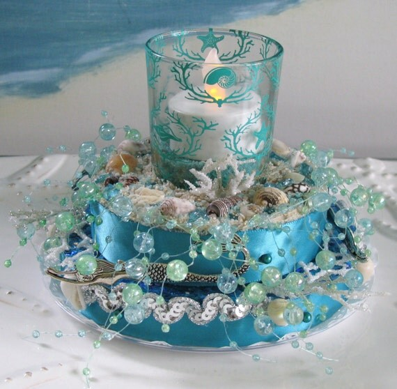 Sea Coral Cake Topper