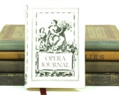 Miniature Black and White Opera Personal Journal - Geoffrey Parker Essex England