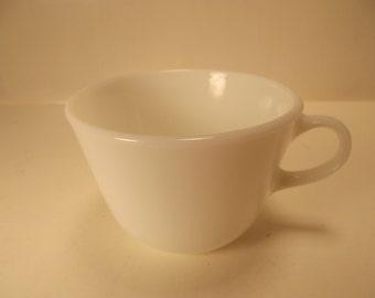 Vintage PYREX Milk Glass COFFEE CUP Mug
