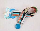 Surfboard pacifier clip, MAM Gumdrop Avent...
