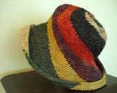 Womens VINTAGE HEMP HAT - Mark Jacob's style