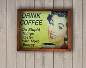 vintage Wall Decor, Wood Working, Old Style, Wood wall accessories, Wood accessories, Retro Coffee Design