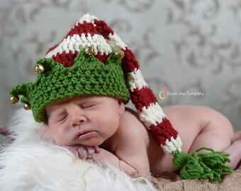 Custom Order Crochet Elf Hat/photo prop