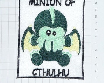 Embroidered Cthulhu Patch / Badge / Applique - 3 designs to choose from