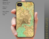 Vintage Jacksonville Map iPhone Case for iPhone 6, iPhone 5/5s, or iPhone 4/4s, Samsung Galaxy S6, Galaxy S5, Galaxy S4, Galaxy S3