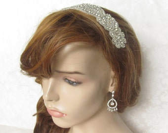 Ribbon Headband/ Bridal Headband / Bridal Fascinator /  The Cecelia  Headband