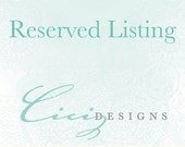 Reserved Listing For Christy