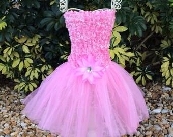 Pink Tutu Dress, Pink Tutu, Princess Tutu, Princess Costume, Fairy Tutu, Fairy Costume, Tinkerbell Fairy Costume, Fairy Tutu Dress