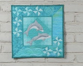Dolphins Wall Quilt Pattern
