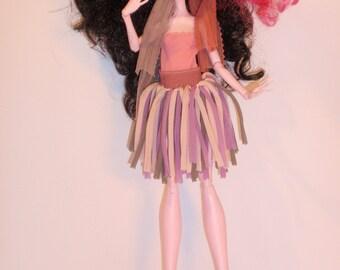 SALE 10% Handmade M.H. dolls  Skirt, Body -Handmade  M.H. dolls  Clothes