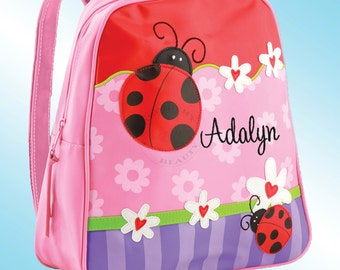 Backpack - Personalized and Embroidered - Go Go Bag - LADYBUGS