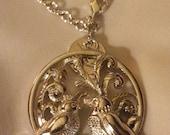 Love Birds necklace. Limited Availability