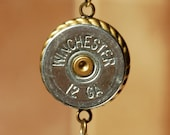 Winchester Shotgun Shell Pendant Necklace - Inspired by Supernatural