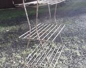 Vintage Iron Plant Stand/Shelf
