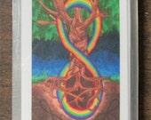 Elder Futhark Flash Cards; Full Size Yggdrasil Design