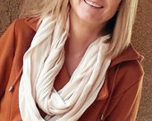 SALE Infinity Jersy Kint Scarf color optioons - So soft and squishy