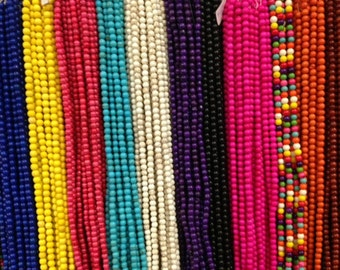 6mm howlite round beads