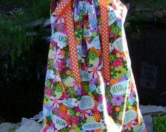Boutique Pillowcase Dress Featuring Girl Scouts Sizes 3 months thru 6/7 :SP001